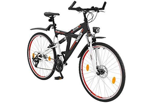 tretwerk DIREKT gute Räder Onux Blaze 28 Zoll ATB Schwarz, Jungen-Herren-Mountainbike
