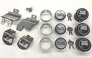 $279 » Slick Locks 2014+ Ford Transit Connect Kit Complete with Spinners, Weather Covers & Locks
