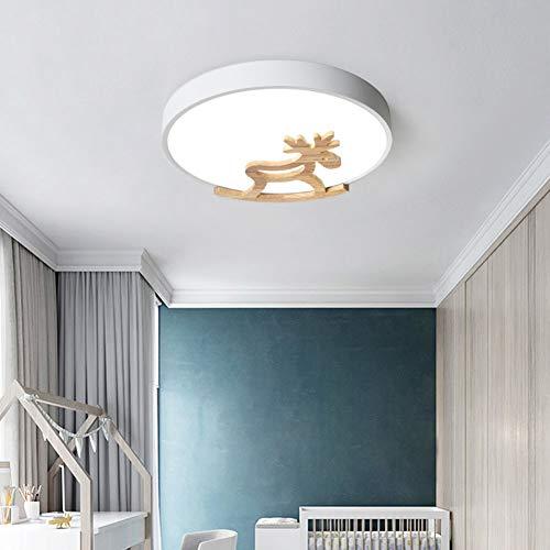 Macarons Led-plafondlamp, Nordic lamp, kinderkamer, cartoon voor jongens, meisjes, badkamer, Trojan plafondlamp