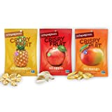 Crispy Green Freeze-Dried Fruit, Single-Serve, Tropical Variety Pack, 0.35 Ounce (16 Count)