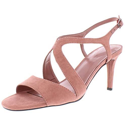 Bandolino Womens Tamar Open Toe Slingback D-Orsay Pumps, med Pink, Size 9.5