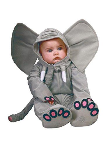 GUIRCA SL.- Costume Elefantino, Colore Grigio, 0-12 Mesi, 81088