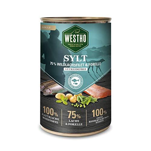 Westho 6 x Sylt 400g (mit 75% Wildlachs & Forelle)