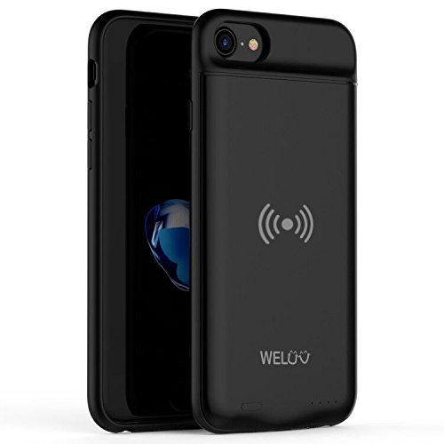 WELUV For SE 2020 iPhone 6 6s 7 8 Qi Battery Case Ultra thin...