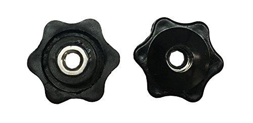 Fluted Nylon Knobs 1/4-20 Thread (Pack of 6) Thumler