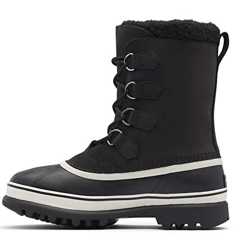 Sorel Men's Snow Winter Boots, Black Dark Stone, 44