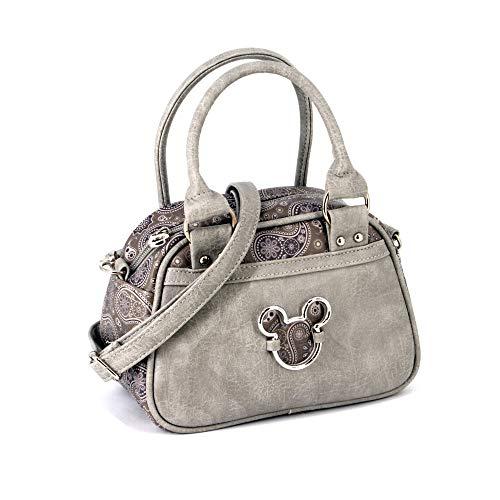 KARACTERMANIA Mickey Mouse Paisgrey-bolso Bowling Fashion Umhängetasche, 22 cm, Grau (Paisgrey)