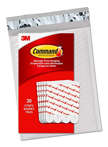 Command Large Refill Replacement Strips for Indoor Hooks,...