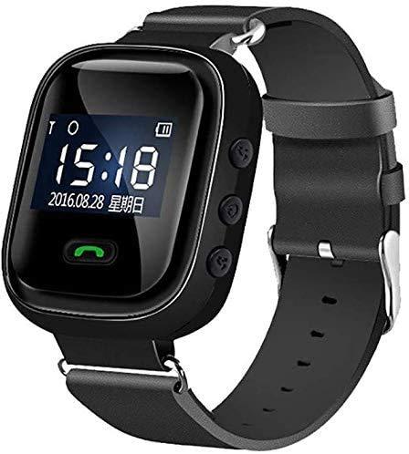 XIAOWANG GPS Telefon Intelligente Uhr Für Ältere Menschen Anti Verlorene GPS-Ortung, SOS Notruf Telefonfunktion Notruf Senioren