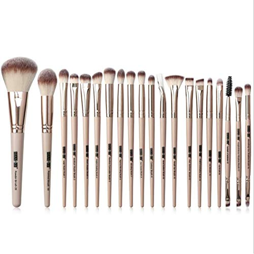 Pinceaux de maquillage pour les yeux Onkessy 20pcs Brush Set Eyeshadow Eyebrow Eyeliner Eyelash Brush Eye Blending Brush for Women Girl