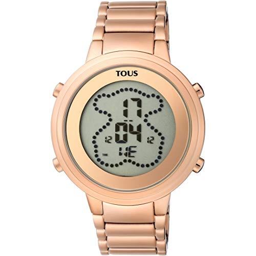 TOUS Reloj Digital Digibear de Acero 90035004