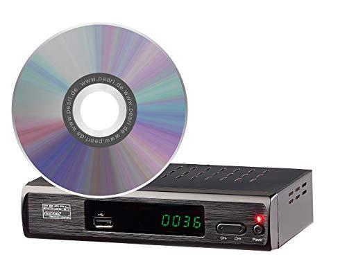 auvisio Zubehör zu TV Receiver: Upgrade-CD zur Aktivierung der USB-Aufnahmefunktion von DTR-400.fhd (DVB-T2 Scart-Receiver)