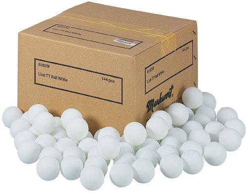 Buy Markwort Lion Practice Table Tennis Balls, White