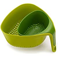 2-Piece Joseph Joseph Nest Colanders Stackable Set