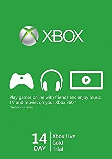 Xbox Live 14 Day Card (Accessories)