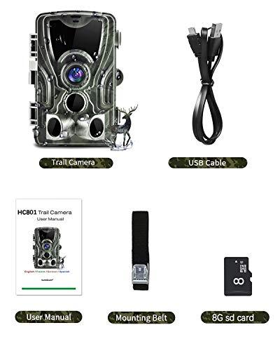 SUNTEKCAM HC-801 Wildkamera 20MP Erfahrungen & Preisvergleich
