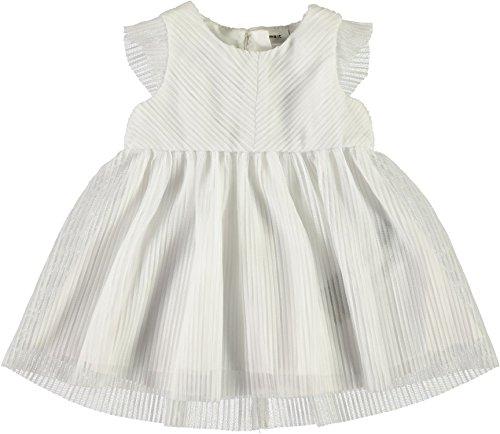 NAME IT Baby Mädchen Taufkleid Festkleid weiß NBFGARIT, Größe:74, Farbe:Bright White