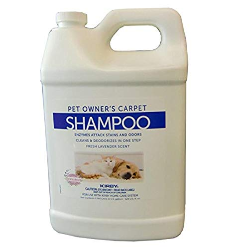 Kirby Company 237507S Cleaner, Carpet Shampoo Pet Owners 1 Gal. 4/Case, 128 Fl Oz