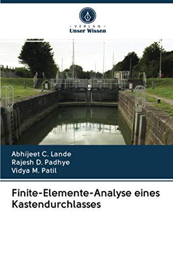 Finite-Elemente-Analyse eines Kastendurchlasses