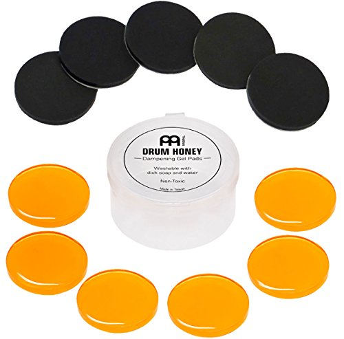 Meinl MDH Drum Honey Schlagzeug Dämpfer + keepdrum Damper Pads