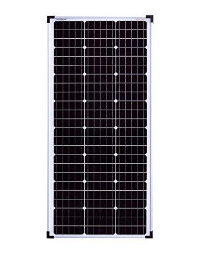 enjoy solar® monocristalino de 100W 36V Panel solar de módulo solar ideal para sistema fotovoltaico de caravana de autocaravana de jardín de 24V