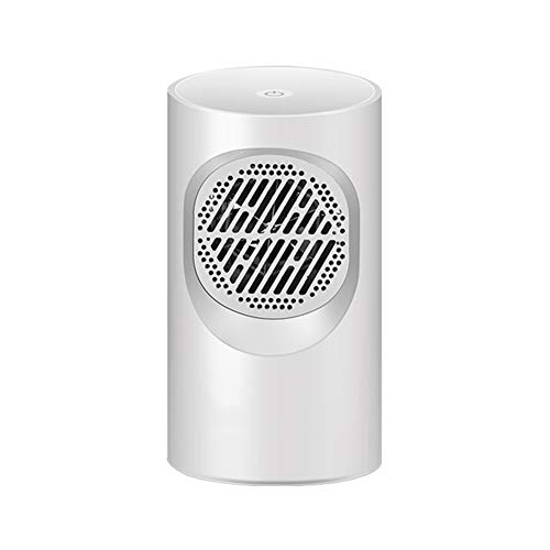 RR-YRF Mini Desktop Heater, Touch Switch, Small Radiator Heater, Fast Heating, Convenient, Ultra-Quiet Constant Temperature,White