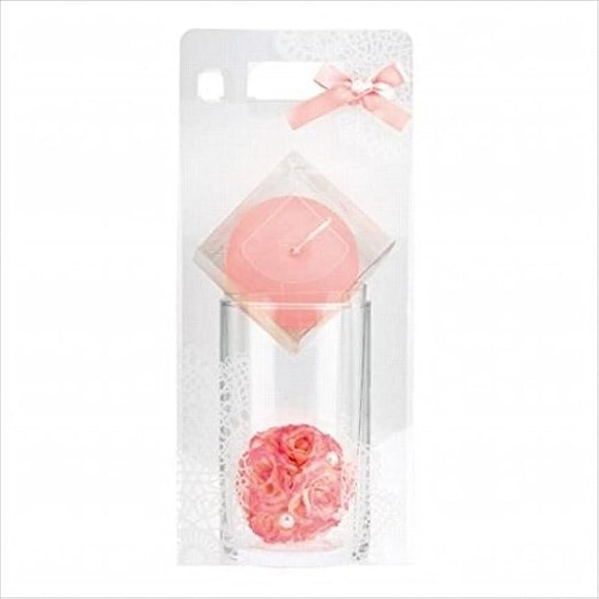フルーツ野菜電化する分数kameyama candle(カメヤマキャンドル) ローズボールセット 「 ピーチアンバ 」 キャンドル ギフトセット(66031000PA)