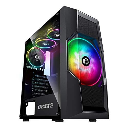 EMPIRE GAMING – ONYX Caja PC Gamer ARGB Torre Mediana ATX/Micro-ATX -4...