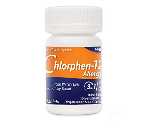 Chlorpheniramine Maleate  Extended Release, 12 Mg , 60 Tablets