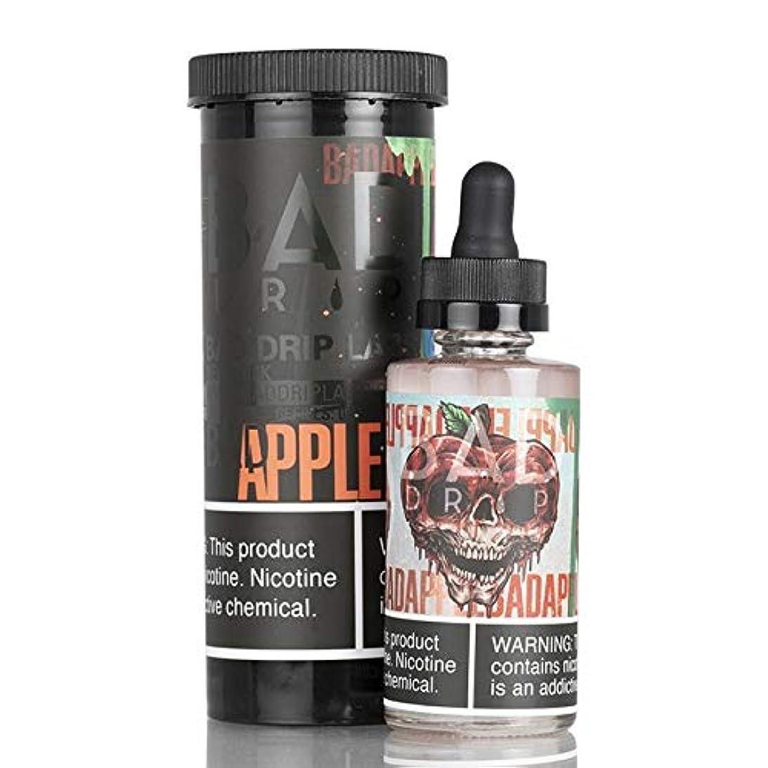 講義効能あるお手伝いさんBad Drip LAB電子タバコ用の液体 60ML - ニコチンなし (Bad Apple)