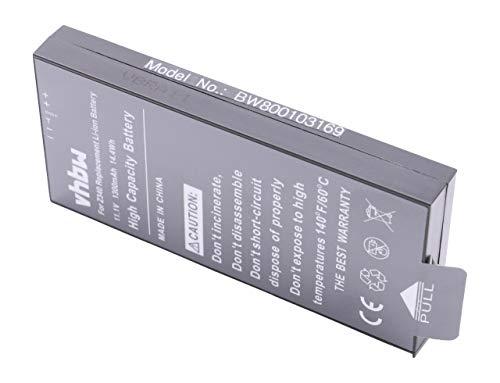 vhbw batería Compatible con Polaroid GL10, Z340 Impresora copiadora escáner Impresora de Etiquetas (1300mAh, 11,1V, Li-Ion)