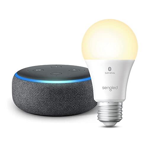 Echo Dot (3ra Gen) - Parlante inteligente con Alexa - Carbón