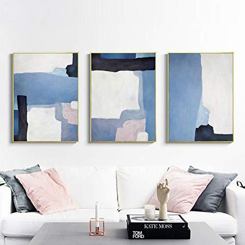 mmwin Moderna Sala de Estar Minimalista del Hotel Pintura Abstracta Decorativa Splash R 60 * 80 * 3 cm