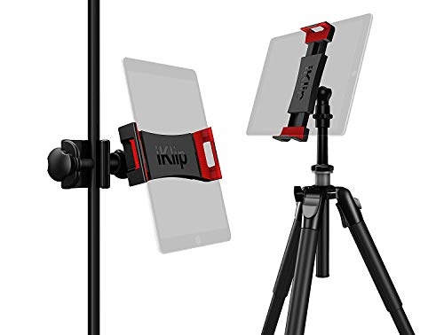 IK Multimedia iKlip 3 Deluxe iPad Tablet Mount for Music Stands & Camera Tripods