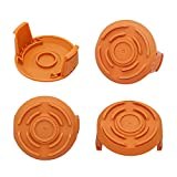 WA6531 Spool Cap Cover for Worx WG150 WG151 WG155 WG160 WG165 WG166 Cordless String Trimmer Edger Weed Eater Wacker WA6531(4 Pack)