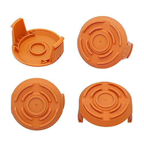 WA6531 Spool Cap Cover for Worx WG150 WG151 WG155 WG160 WG165 WG166 Cordless String Trimmer Edger Weed Eater Wacker WA6531(4 Pack)