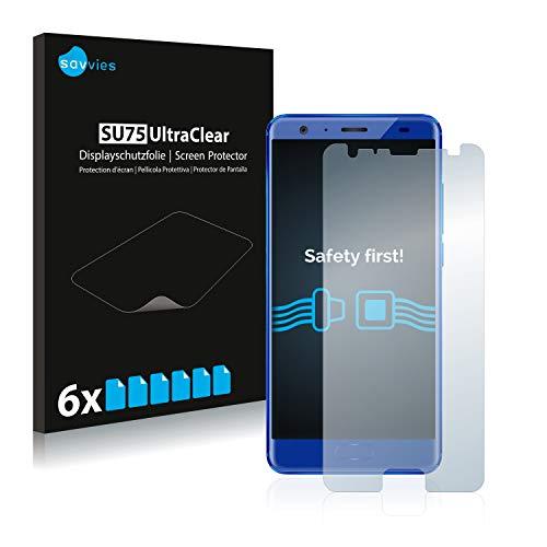 Savvies 6X Schutzfolie kompatibel mit Oukitel K8000 Bildschirmschutz-Folie Ultra-transparent