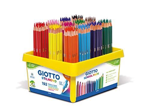 Giotto 5234 00 - Stilnovo 192-er Schulbox, farbig sortiert