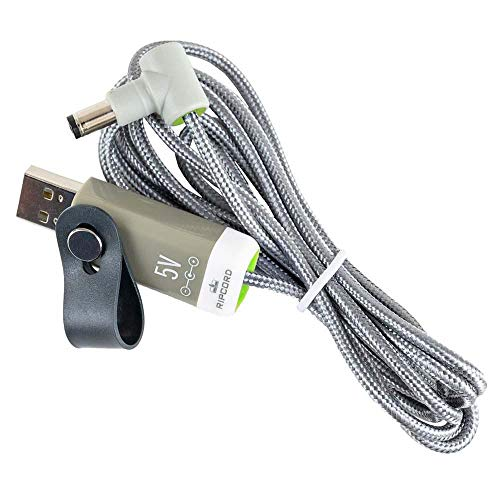 myVolts Ripcord - USB to 5V DC Power Cable Compatible with The Zoom H4n Pro Recorder