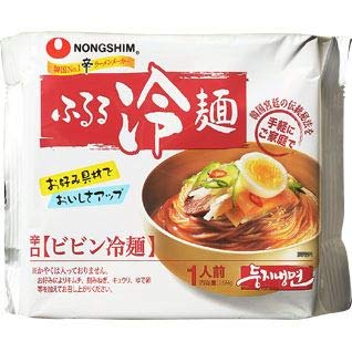 農心 ふるる冷麺ビビン冷麺159g
