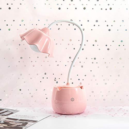 Lámparas de Mesa Lampara mesita noche Lámpara LED lámpara de escritorio de los niños táctil de control de regulación ligera flexible del escritorio del USB recargable de atención oftálmica de niños Lu