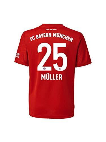 FC Bayern München Home-Trikot Saison 2020/21 Mini Kit, Gr. 116, Thomas Müller
