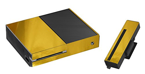 Gouden Spiegel Sticker/Huid xbox een Console & Kinect stickers