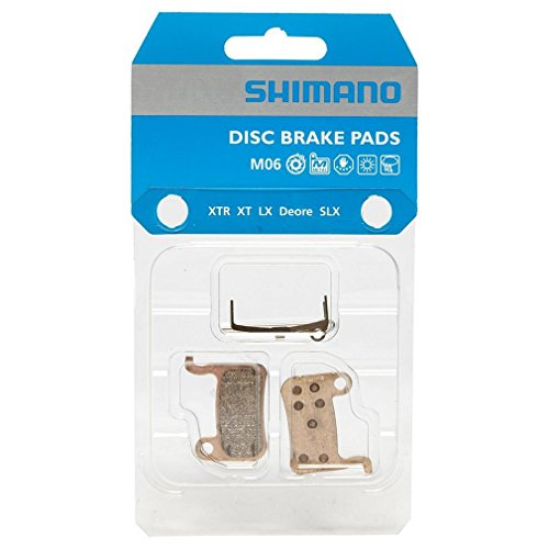 Pastillas de freno MTB Shimano XTR / XT / SLX / LX Metal M06