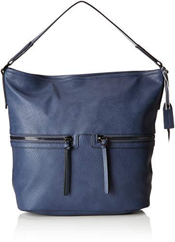ESPRIT Accessoires Damen 098ea1o003 Schultertasche Blau (Blue)
