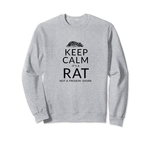 Mantén la calma Rata Divertida Mascota Roedor Sudadera