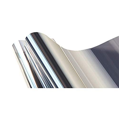 ZXL folie voor ramen, isolatiefolie, zonwering, glas, etiket voor thuis, unidirectioneel balkon, slaapkamer, gebouwen, zonneschaduw, eenvoudig te bedienen, 40 x 500