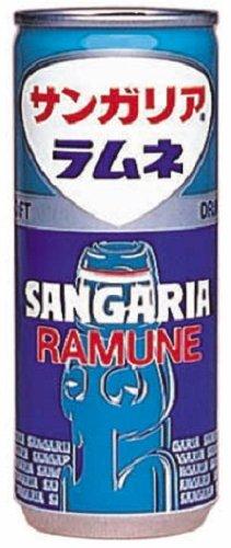 サンガリア ラムネ瓶 瓶 250ml×30本