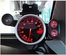 AutoTrends Link Meter Racer Defi Style Gauge 11000 RPM Tachometer 7 Color Setting, 80 mm