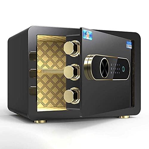 Cajas fuertes de armario, caja fuerte digital de huellas dactilares, caja fuerte electrónica, caja fuerte, caja fuerte para el hogar, caja para cerradura, caja fuerte certificada para el hogar, seguro